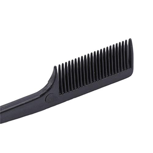 LZIYAN Edge Control Hair Brush Comb Eyebrow brush Polish Hair Tools Creative Gift For Women,Black by LZIYAN (Image #4)