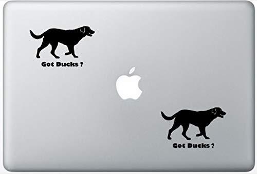 (Got Ducks Chesapeake Bay Retriever Decal PetsAffectionLaptop0212 Set of Two (2X), Dog Decal, Sticker, Laptop, Ipad, MacBook)