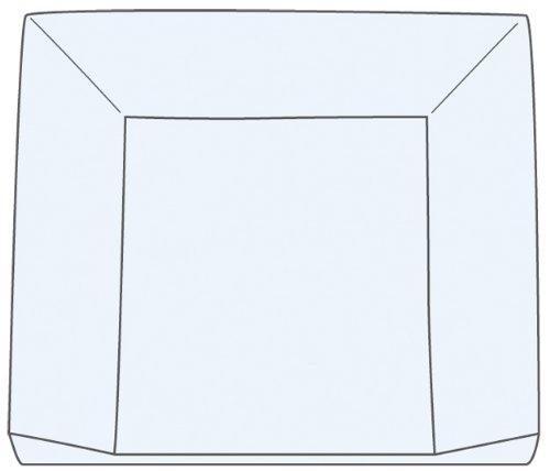 Julius Z/öllner 2210127040 75 x 85 cm Bennystar Wickelauflage 3-Keil Mulde