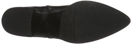 Bianco Dress Zip Boot Som16, Zapatillas de Estar por Casa para Mujer Negro - Schwarz (Black/10)