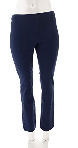 Liz Claiborne NY Jackie Bi-Stretch Pants Navy 6 New A267340