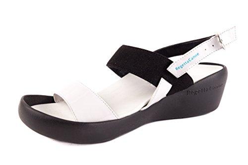 Regetta Canoe Sandalias de Vestir de Material Sintético Para Mujer Negro Negro 39