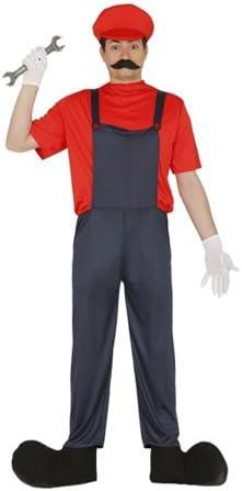 GUIRMA, S.A. Disfraz de Mecánico Mario para Hombre L: Amazon.es ...