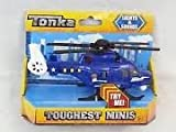 Tonka Lights and Sounds Toughest Mini SWAT Police Helicopter Blue