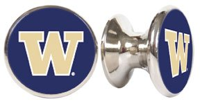 - Washington Huskies NCAA Stainless Steel Cabinet Knob / Drawer Pull