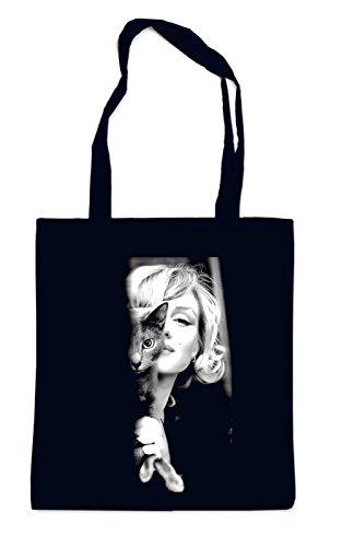 Marilyn Cat Bag Black