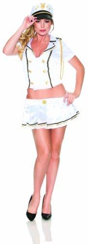 [Playboy U.S. Costume, White, Small/Medium] (Us Marines Costumes)