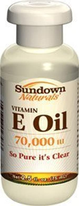 Sundown Naturals Pure Vitamin E - Oil 70,000 Iu, 2.5 Oz ( Pack of 4 ) by Sundown Naturals