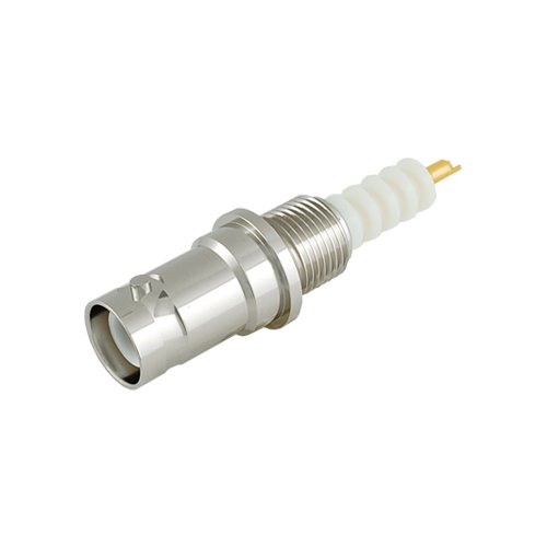 RF Connector - SHV Connector Bulkhead Receptacle, SHV-BR-E, High Voltage, 1 Piece