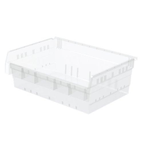 AKRO-MILS 30826 ShelfMax 8 Plastic Nesting Shelf Bin Box,...