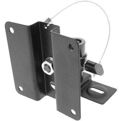 Metal Speaker Mount, Black, 2 Piece Set ( 50 PACK ) BY NETCNA