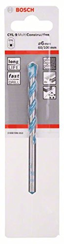 Bosch 2608596054 Foret polyvalent CYL-9 Multi Construction Ø 7 mm Longueur 100 mm Bosch Professional