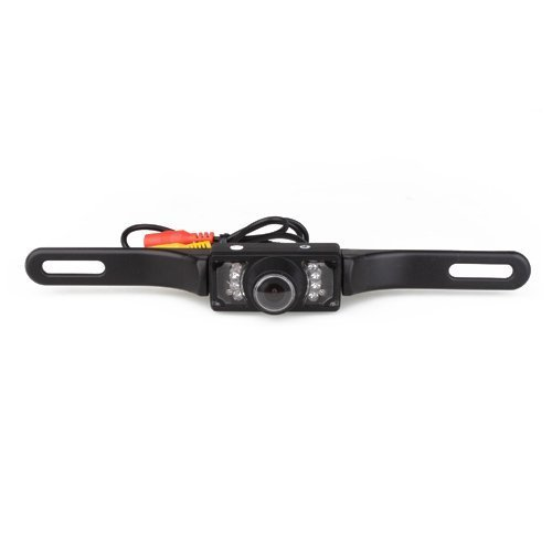 Ouku Night Vision Watherproof Car Rear View 420TVL 1/3 Inch CMOS Color Sensor Camera with 120 Degree Wide Viewing Angle and Anti-fog Function
