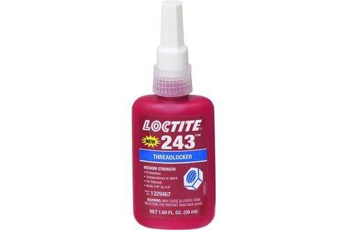 243 Blue Threadlocker, Medium Strength - Primerless, Size - 250ml Bottle