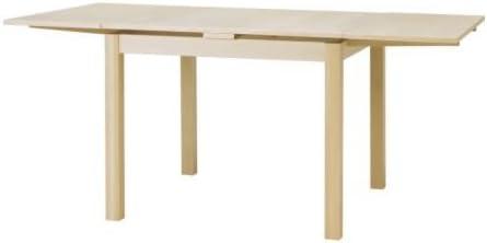 Ikea Bjursta Tavolo Allungabile In Legno Di Betulla Impiallacciato 90 129 168 X 90 Cm Amazon It Casa E Cucina