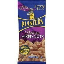 Planters Deluxe Mixed Nut, 2.25 Ounce -- 72 per case. by Kraft