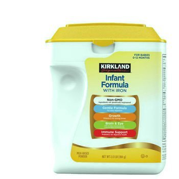 Kirkland Signature Non-GMO, Gentle Infant Formula With Iron 34oz.