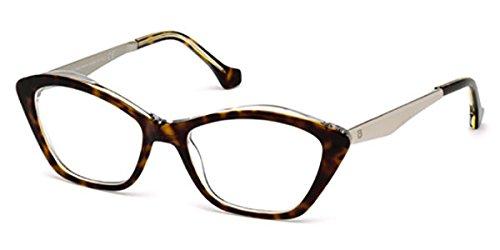 BALENCIAGA Eyeglasses BA5040 053 Blonde Havana