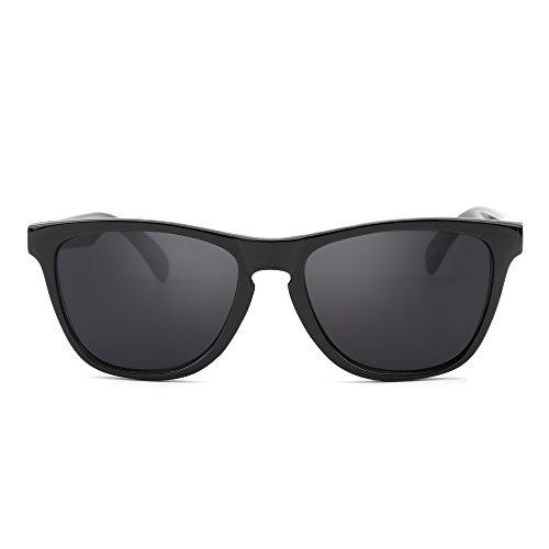 Original Lightweight Wayfarer Sunglasses Men Women UV400 Shiny Black - Original Black Wayfarer Sunglasses