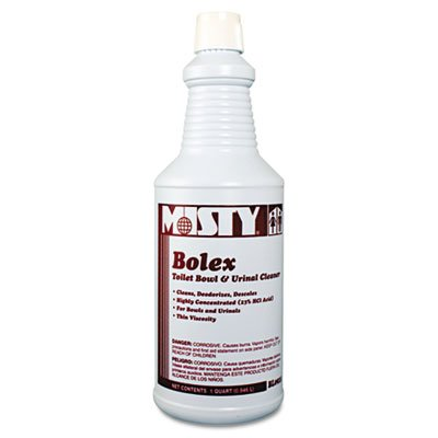 misty-products-misty-bolex-23-percent-hydrochloric-acid-bowl-cleaner-32-oz-bottle-12-carton-sold-as-