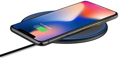 Black Qi Standard Wireless Charger Majico 10W Fast Wireless Charging Pad 10W Compatible Galaxy S10//S9//Note 10//Note 9 7.5W Compatible iPhone 11//11 Pro//11 Pro Max//XR//Xs Max//Xs//X//8//8P//Airpods Pro//2