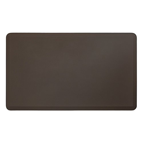 "NewLife by GelPro Professional Grade Anti-Fatigue Kitchen & Office Comfort Mat, 36x60, Earth ¾"" Bio-Foam Mat with non-slip bottom for health & wellness by NewLife by GelPro"