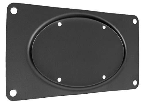 100mm Adapter - VIVO Steel VESA Monitor Mount Adapter Plate for Monitor Screen up to 43