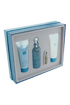 Wash Ltd Designer Body Parfums (Ocean Dream by Designer Parfums Ltd. for Women - 4.0 Pc Gift Set 3oz EDT Spray, 3.4oz Body Moisturizer, 3.4oz Body Wash, 3.5ml EDT Splash)