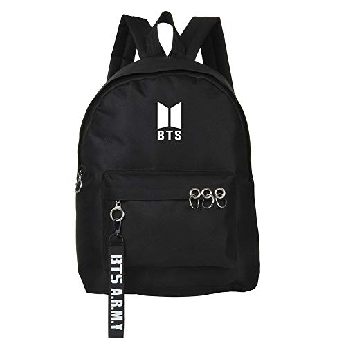 NUOFENG Kpop BTS Backpack Bangtan Boys Starry Sky Luminous Satchel Schoolbag Casual Daypack Laptop Bags