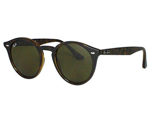 Ray Ban RB2180 Round 710/73 Dark Havana Sunglasses - Bans Ray Dark
