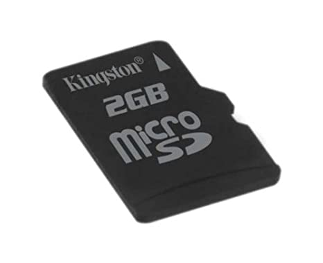 Kingston Technology MicroSD Card 2 GB Memoria Flash - Tarjeta de Memoria (2 GB, MicroSD)