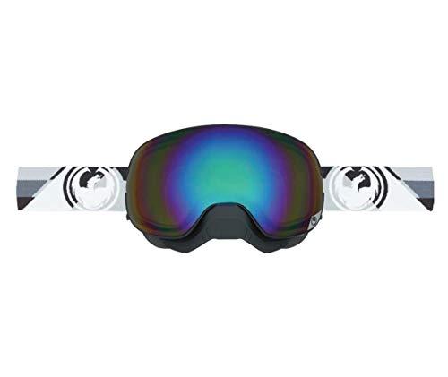 Dragon Alliance Shear Unisex X2 Snow Goggles Eyewear, Flash Green Performance Polarized, One Size ()