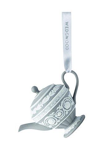 Wedgwood Iconic Teapot Christmas Ornament, 4