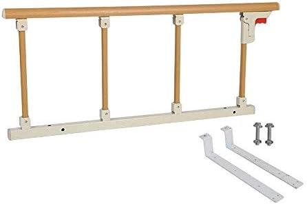 GDNA 高齢者と子供のためのアンチドロップベッドの手すりフェンス寮ベッドサイドベゼル手すり折り畳み式の手すり大型ベッドアンチ落ちます (Color : B)