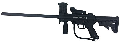 (Tippmann A-5 Sniper Paintball Gun with Red Dot)