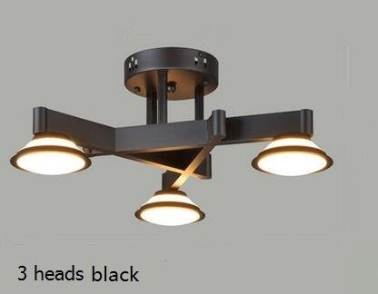 Plafoniere Da Salotto : Plafoniere nordiche luci soggiorno led lampade da studio per