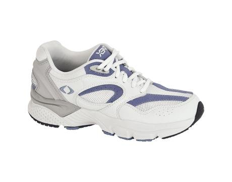 Apex Boss Runner Women's Running 10 C/D US White-Periwinkle by Apex