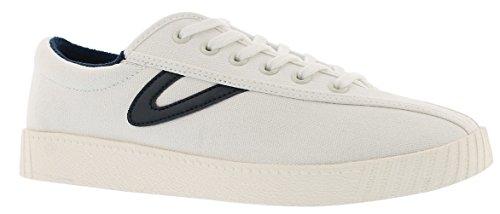 Tretorn Women's Nylite Plus Canvas Vintage White/Night Fashion Sneaker - 7M