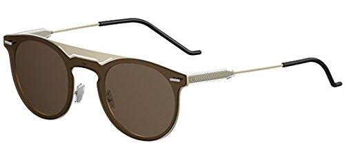 Dior DIOR 0211S PALE GOLD/BROWN 99/1/155 men Sunglasses (Dior Sonnenbrillen Männer)