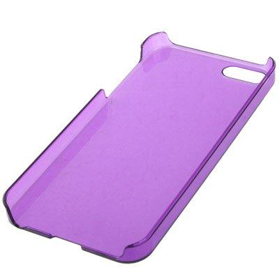 """iPhone 5S Hülle / Case / Cover in lila mit transparenter Rückwand aus hochwertigem Polycarbonat im """"Crystal-Style"""" -ORIGINAL nur von THESMARTGUARD-"""