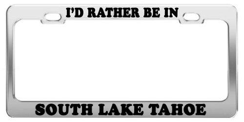 lake tahoe license plate frame - 7
