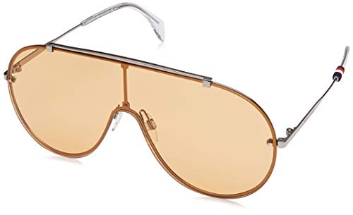 Tommy Hilfiger Unisex-Adult TH1597S Shield Sunglasses, Yellow, 99 ()