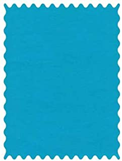 product image for SheetWorld 100% Cotton Percale Fabric by The Yard, Turquoise Woven, 36 x 44