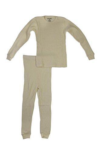 Better Wear Boys Thermal Underwear Set 4 Ivory