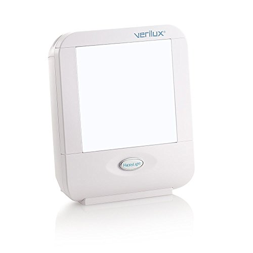 (Verilux HappyLight Compact Personal, Portable Light Therapy Energy Lamp)