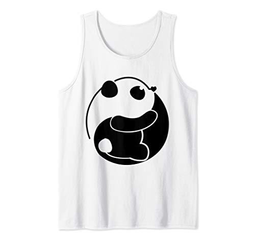 (Yin Yang Panda Tank Top)