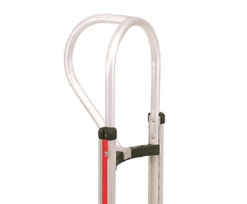 Magliner 300990 Aluminum Vertical Loop Hand Truck Handle for Hand Truck with Curved Back Frame, 20'' Length, 15'' Height, 14'' Width