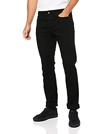 Calvin Klein Men's Slim Fit Jeans, Black, 28W x 32L