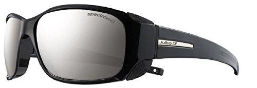 Julbo Women's Monterose Mountain Sunglasses, Black/Black, Spectron 4 Lens, ()