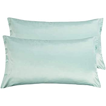 Amazon Com Satin Pillowcase For Hair And Skin 20x40 Inch